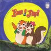 disque dessin anime bannertail the story of the gray squirrel banda sonora original da serie da tv bana e flapi